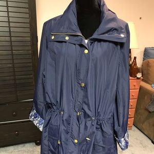 JM COLLECTION ALL WEATHER/RAINCOAT